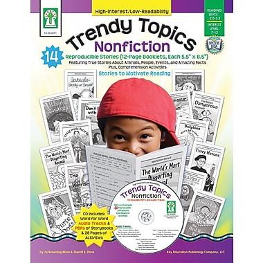Key Education Trendy Topics: Nonfiction Resource Book