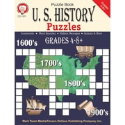 Mark Twain U.S. History Puzzles Resource Book