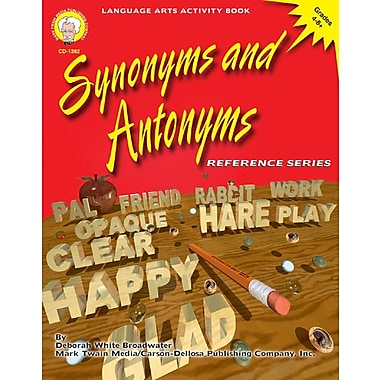 Mark Twain Synonyms and Antonyms Resource Book