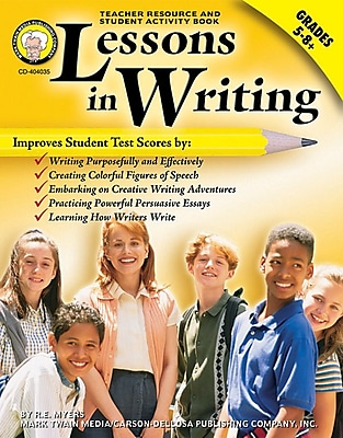 Lessons In Writing Resource Book, Grades 5 - 8+
