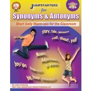 Mark Twain Jumpstarters for Synonyms and Antonyms Resource Book