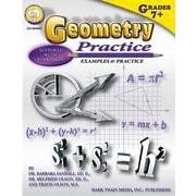 Mark Twain Geometry Practice Book Resource Book
