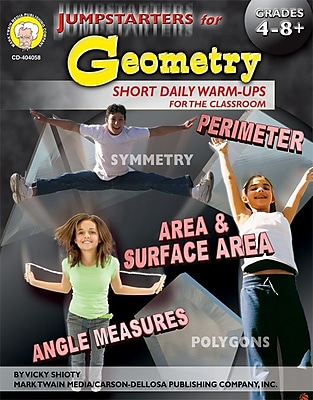 Jumpstarters for Geometry Resource Book, Grades 4 - 8+