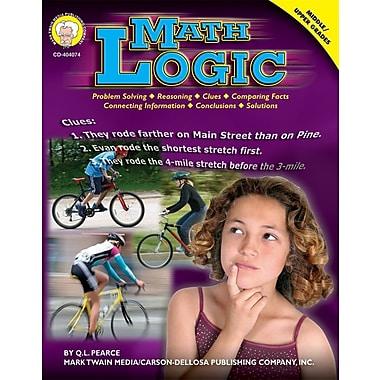 Mark Twain Media 404074 Math Logic Resource Book, Grade 6 - 12