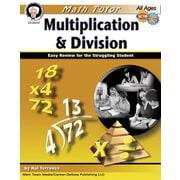 Mark Twain Math Tutor: Multiplication and Division Resource Book
