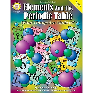 Carson-Dellosa Mark Twain Elements and the Periodic Table Resource Book (1387)