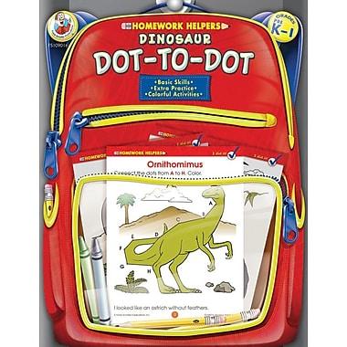 Frank Schaffer Dinosaur Dot-to-Dot Workbook