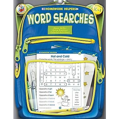 Frank Schaffer Word Searches Workbook, Grades K - 1