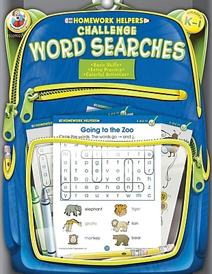 Frank Schaffer Challenge Word Searches Workbook