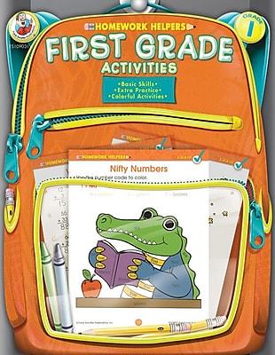 Frank Schaffer First Grade Activities Homework Helper Workbook