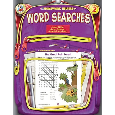 Frank Schaffer Word Searches Workbook, Grade 2