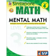 Frank Schaffer Mental Math Workbook, Grade 4/Level 3