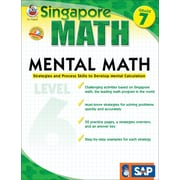 Frank Schaffer Mental Math Workbook, Grade 7/Level6