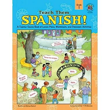 Instructional Fair Teach Them Spanish! Resource Book, Grade 1