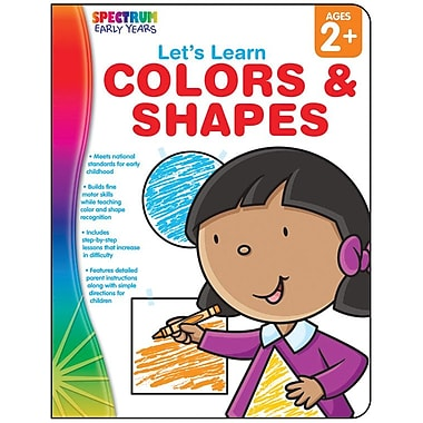 Spectrum Let's Learn Colors & Shapes Workbook