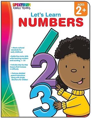 Spectrum Let's Learn Numbers Workbook