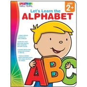 Spectrum Let's Learn the Alphabet Workbook