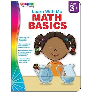 Spectrum Math Basics Workbook