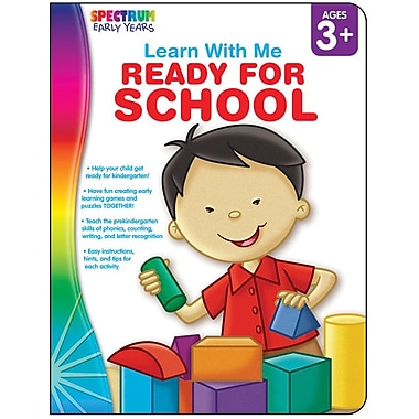 Spectrum Ready for School Workbook