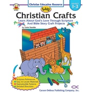 Carson-Dellosa Easy Christian Crafts Resource Book, Grades 1 - 3