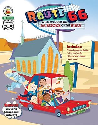 Carson-Dellosa Route 66: A Trip through the 66 Books of the Bible Resource Book