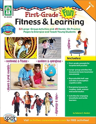Key Education First Grade Fun, Fitness & Learning Resource Book