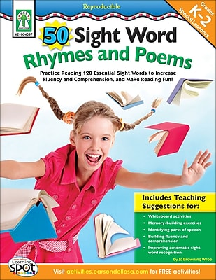 Key Education 50 Sight Word Rhymes and Poems Resource Book