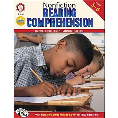 Mark Twain Nonfiction Reading Comprehension Resource Book, Grades 5 - 6
