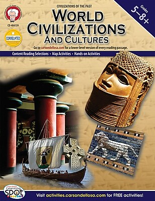 Mark Twain World Civilizations and Cultures Resource Book, Grades 5 - 8+