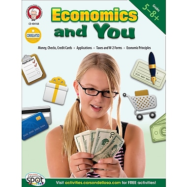 Carson-Dellosa Mark Twain Economics and You Resource Book (404168)