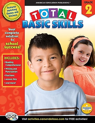 Total Basic Skills Workbook, Grade 2