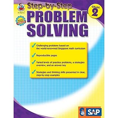 Frank Schaffer Step-by-Step Problem Solving Resource Book, Grade 2