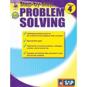Frank Schaffer Step-by-Step Problem Solving Resource Book, Grade 4