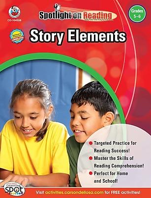 Frank Schaffer Story Elements Resource Book, Grades 5 - 6