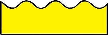 Carson-Dellosa Yellow Borders