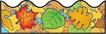 Carson-Dellosa Colored Leaves Borders