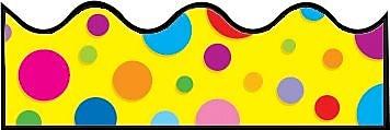 Carson-Dellosa Colorful Dots Borders