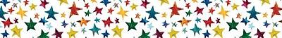 Carson-Dellosa The World of Eric Carle Sparkling Stars Borders
