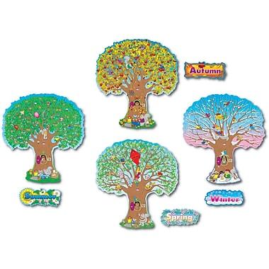 Carson-Dellosa Four Seasons Trees Bulletin Board Set (3214)