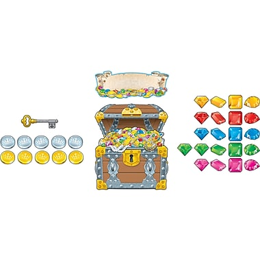 Carson-Dellosa Big Treasure Chest Bulletin Board Set (110098)