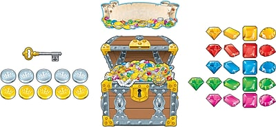Carson-Dellosa Big Treasure Chest Bulletin Board Set