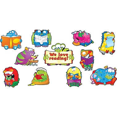 Carson-Dellosa Reading Monsters Bulletin Board Set