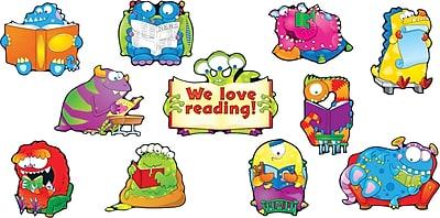 Carson-Dellosa Reading Monsters Bulletin Board Set