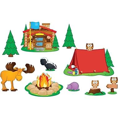 Carson-Dellosa Camping Bulletin Board Set