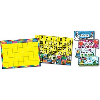 Carson-Dellosa Calendar Set: Kid-Drawn Bulletin Board Set
