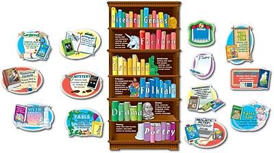 Carson-Dellosa Literary Genres Bulletin Board Set, Grades 3 - 5+