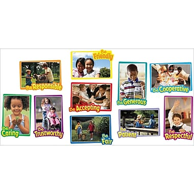Carson-Dellosa First-Rate Character Traits Bulletin Board Set (110095)