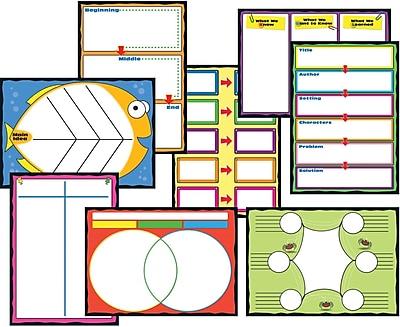 Carson-Dellosa Graphic Organizers Bulletin Board Set