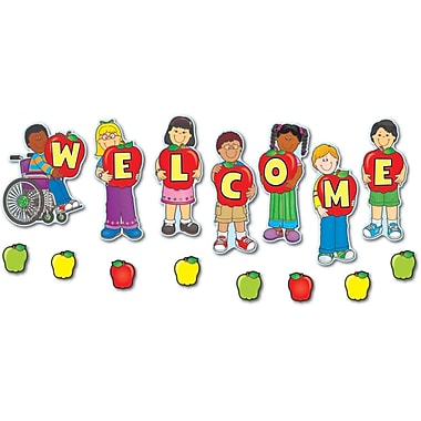 Carson-Dellosa Welcome Bulletin Board Set
