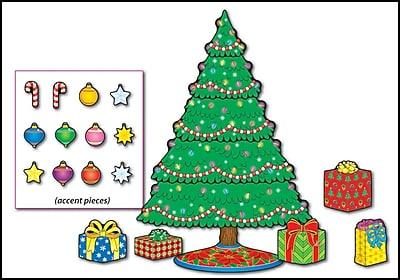 Carson-Dellosa Christmas Tree Bulletin Board Set